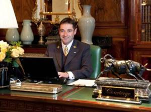 Ben Malpass is head concierge at the Savoy, London.