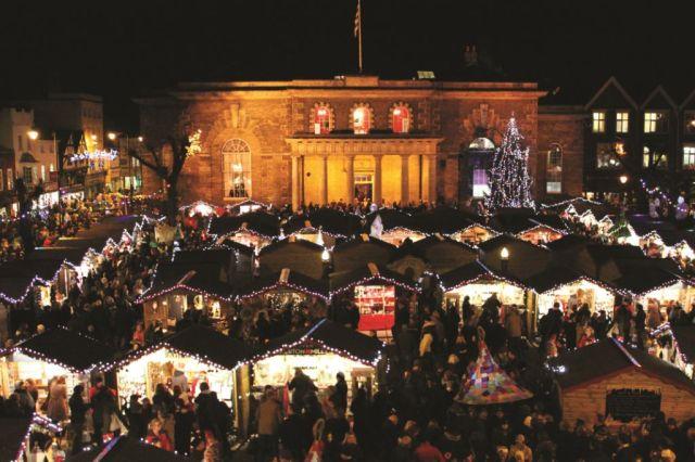 Salisbury Christmas Market 2013