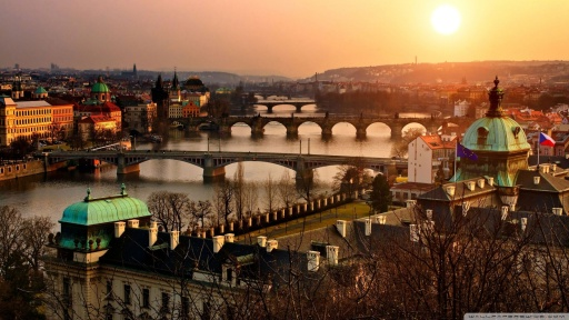 Stunning Winter Prague