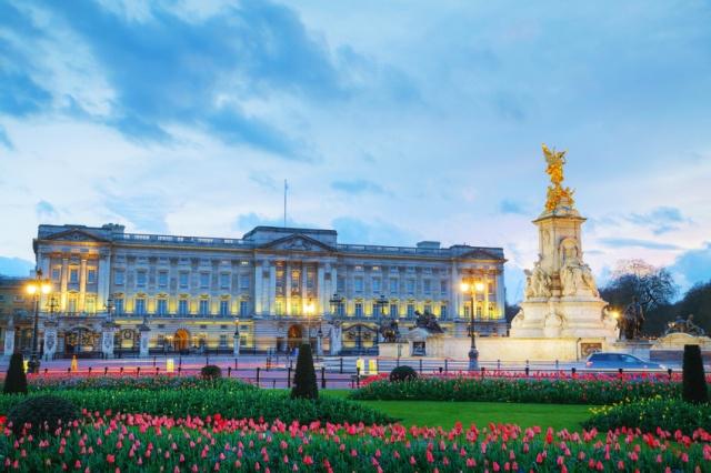 Buckingham palace in L...